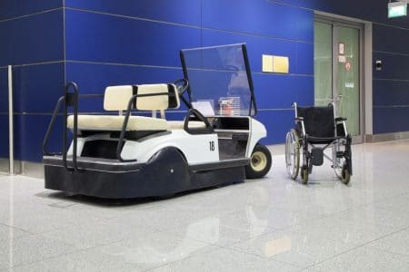 traveling with a wheelchair